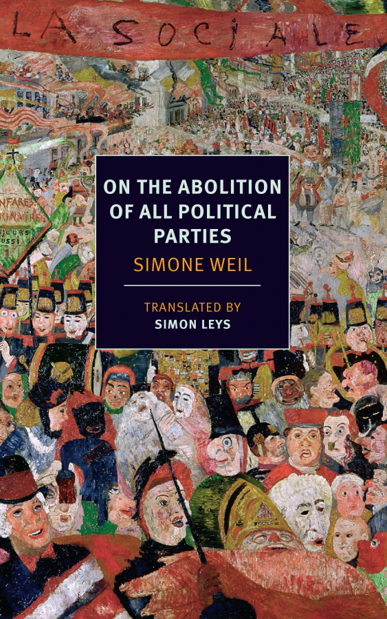 Books in Brief: On the Abolition of All Political Parties