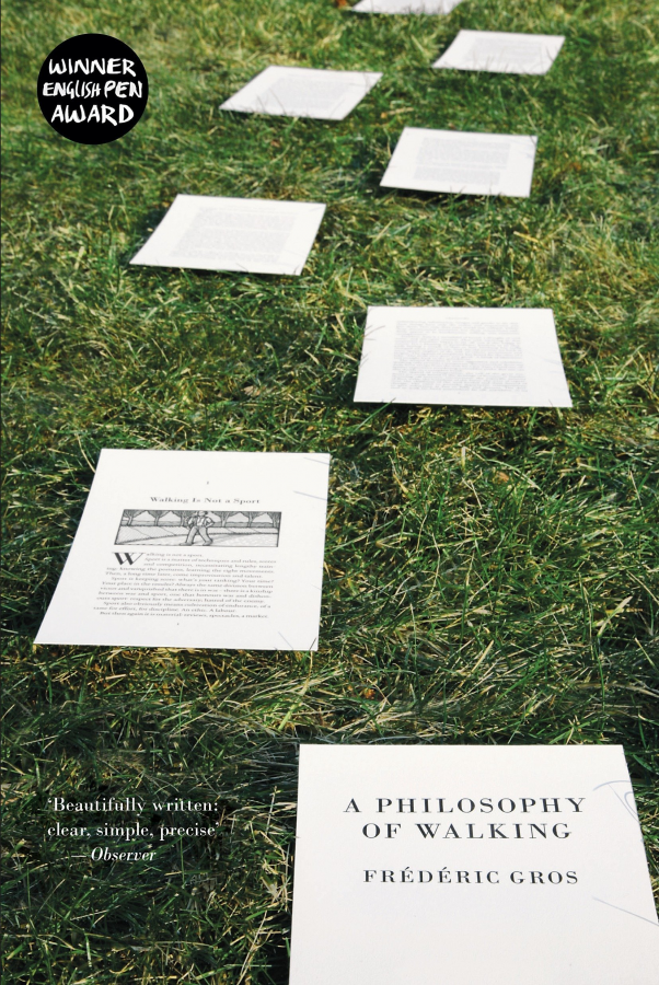A Philosophy of Walking by Frédéric Gros